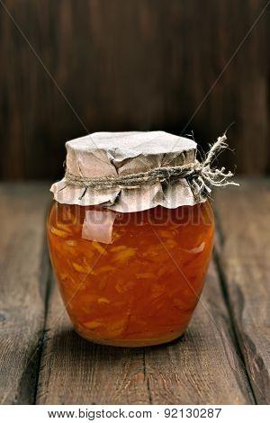Orange Homemade Jam Marmelade