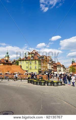 Townhouses At The Castle Square, Warsaw