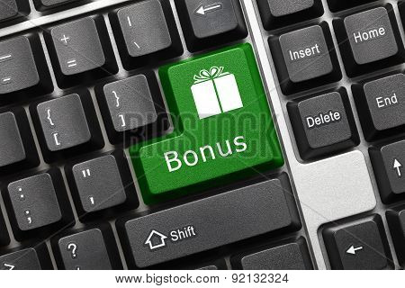 Conceptual Keyboard - Bonus (green Key)