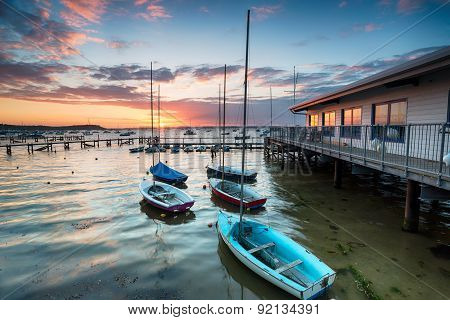 Boats On Poole Harbour