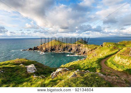 The Rumps On The Cornish Coast