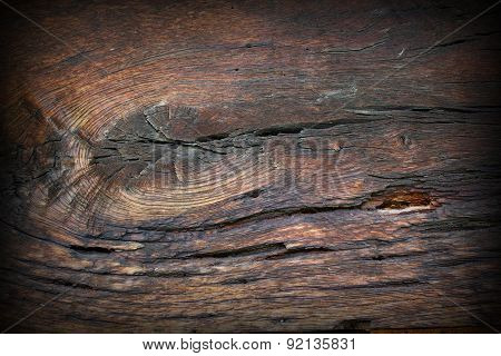 Old Oak Wood Surface