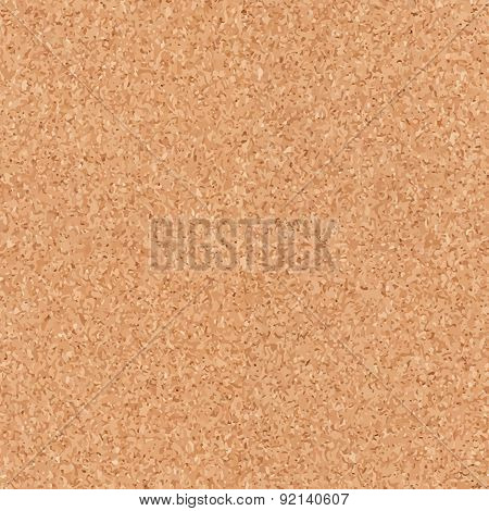 Seamless cork board texture