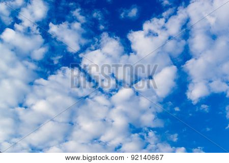 Cloudy Blue Sky Skyscape