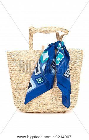 Womens Beach Fashion Wicker Bag