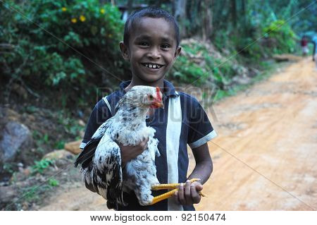 Sri Lankan Rural Boy