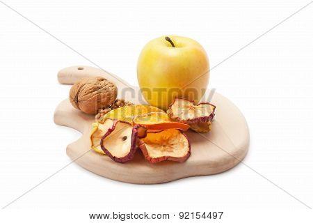 Fresh Sweet Apple And Walnut