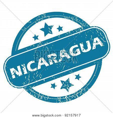 NICARAGUA round stamp
