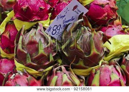 Exotic Fruit Pitaya