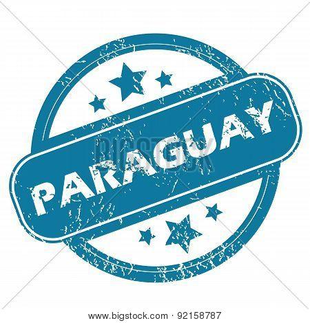 PARAGUAY round stamp