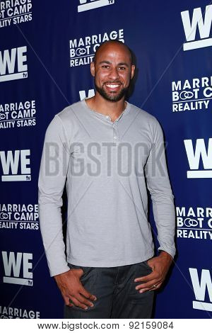 LOS ANGELES - MAY 28:  Hank Baskett at the WE tv's