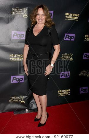 LOS ANGELES - FEB 21:  Catherine Bach at the  2015 Daytime EMMY Awards Kick-off Party at the Hollywood Museum on April 21, 2015 in Hollywood, CA