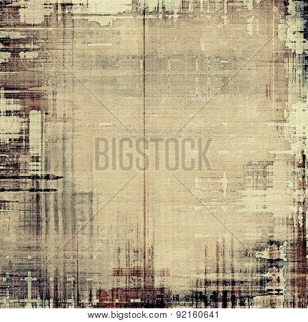 Rough grunge texture. With different color patterns: yellow (beige); brown; gray; black
