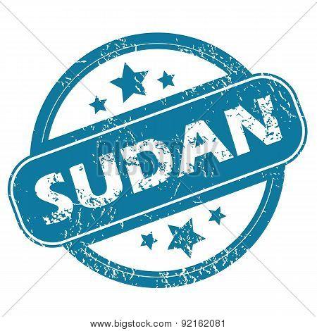 SUDAN round stamp