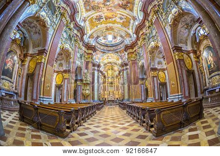 St. Peter And Paul Church In Melk Abbey