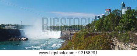 Nigara Falls. Ontario, Canada