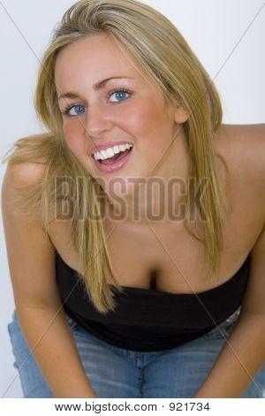 Kneeling Blonde