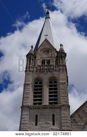 Belfry of Saint Joseph Catholic Church