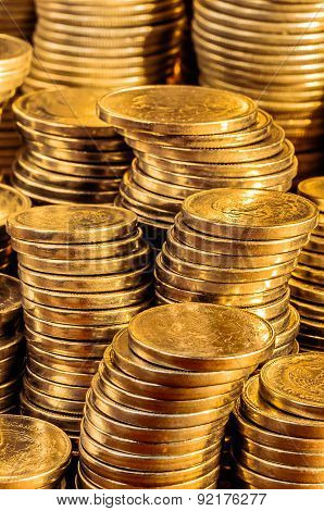 Gold Coins Stack