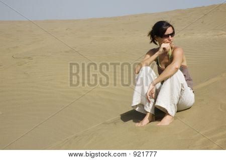 Thinking At The Beach