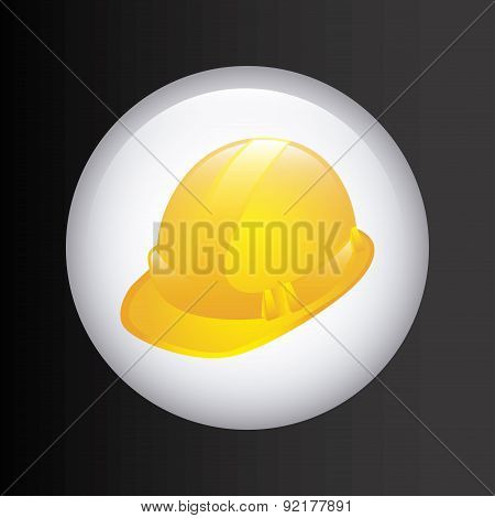 under construction design over black background vector illustrat