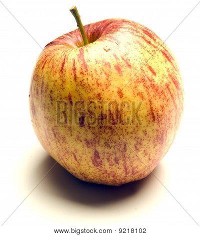 Jonagold Apple On White Background
