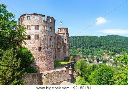 Castle Heidelberg in Germany, Europe