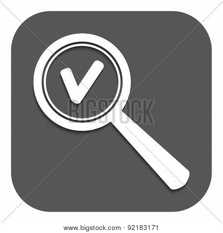 Magnifier Glass. Search Icons. Vector