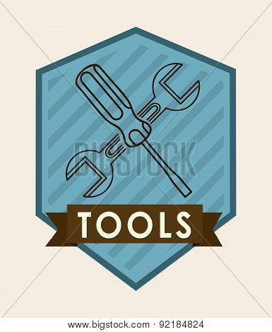 repair design over  white background vector illustration