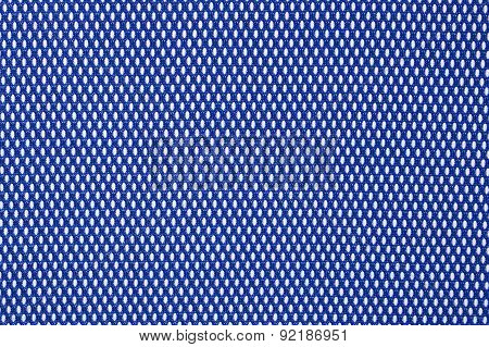 Blue Nonwoven Fabric Background