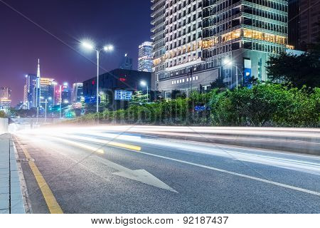 City Road At Night