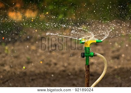 Plastic Home Gardening Irrigation Sprinkler