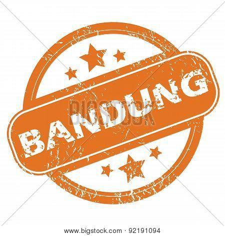 Bandung round stamp