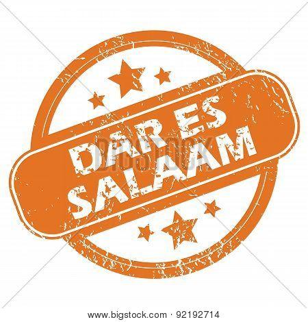 Dar Es Salaam rubber stamp