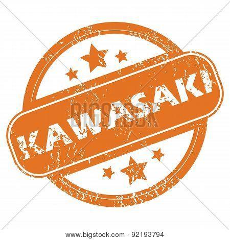 Kawasaki round stamp