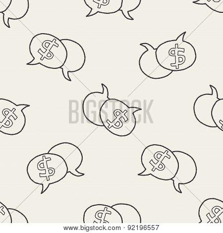 Talk Money Doodle