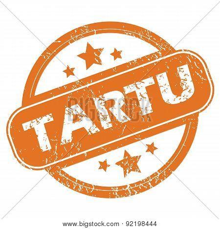 Tartu round stamp