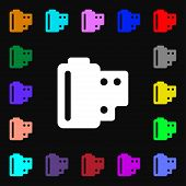 pic of mm  - 35 mm negative films icon sign - JPG