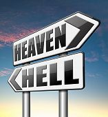 image of hells angels  - heaven or hell - JPG