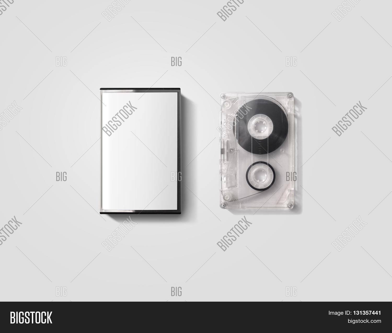 blank cassette tape box design image photo bigstock. Black Bedroom Furniture Sets. Home Design Ideas