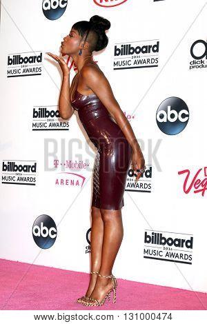 LAS VEGAS - MAY 22:  Keke Palmer at the Billboard Music Awards 2016 at the T-Mobile Arena on May 22, 2016 in Las Vegas, NV