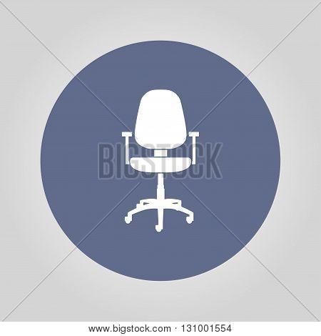 Office ichair icon vector eps 10 illustration
