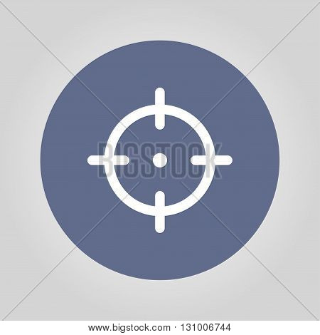Sight device icon. Flat design style modern vector illustration.