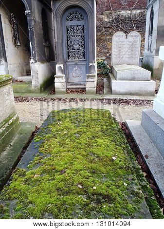 Monumental Mont Martre Cemetery, Paris.