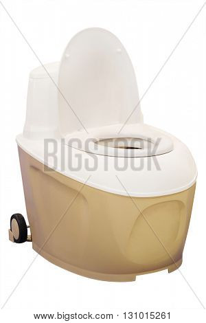 The image of a chemical toilet