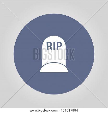 grave icon. Vector concept illustration for design.