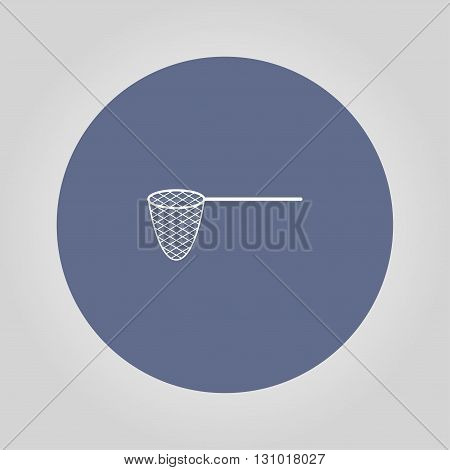 Fishing net Icon. Vector concept illustration for design.