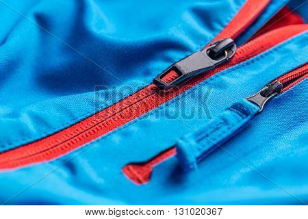 Zipper On Coat