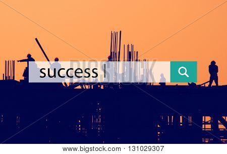 Success Achievement Development Growth Concept