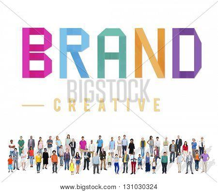Brand Creative Branding Advertising Commercial Marketing Concept